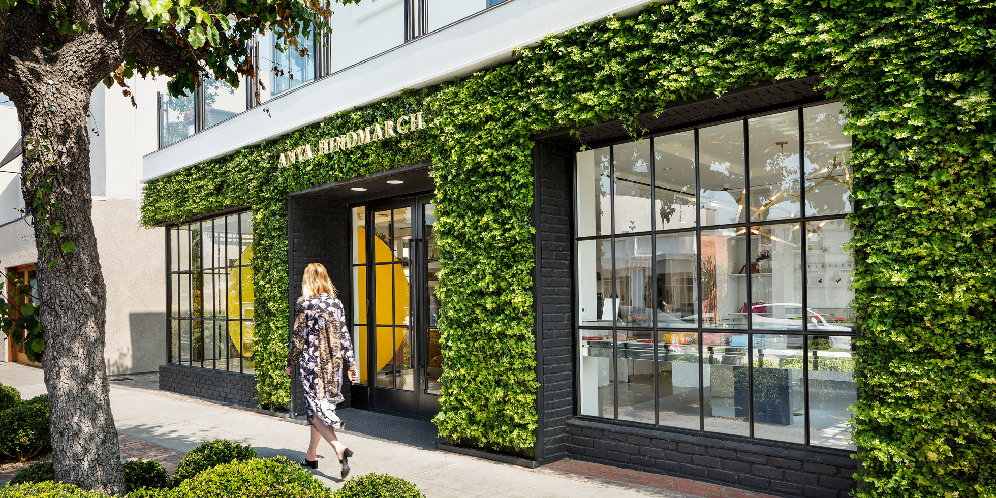 Anya Hindmarch  Living Wall by Habitat Horticulture - View 3