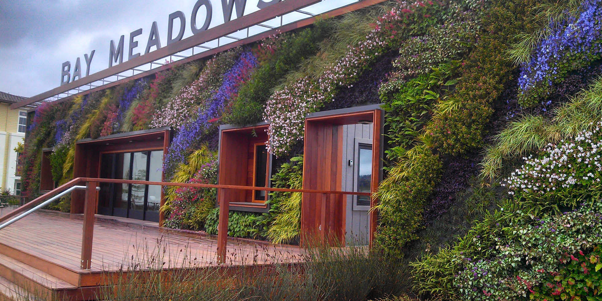 Bay Meadows Welcome Center Living Wall by Habitat Horticulture - View 8