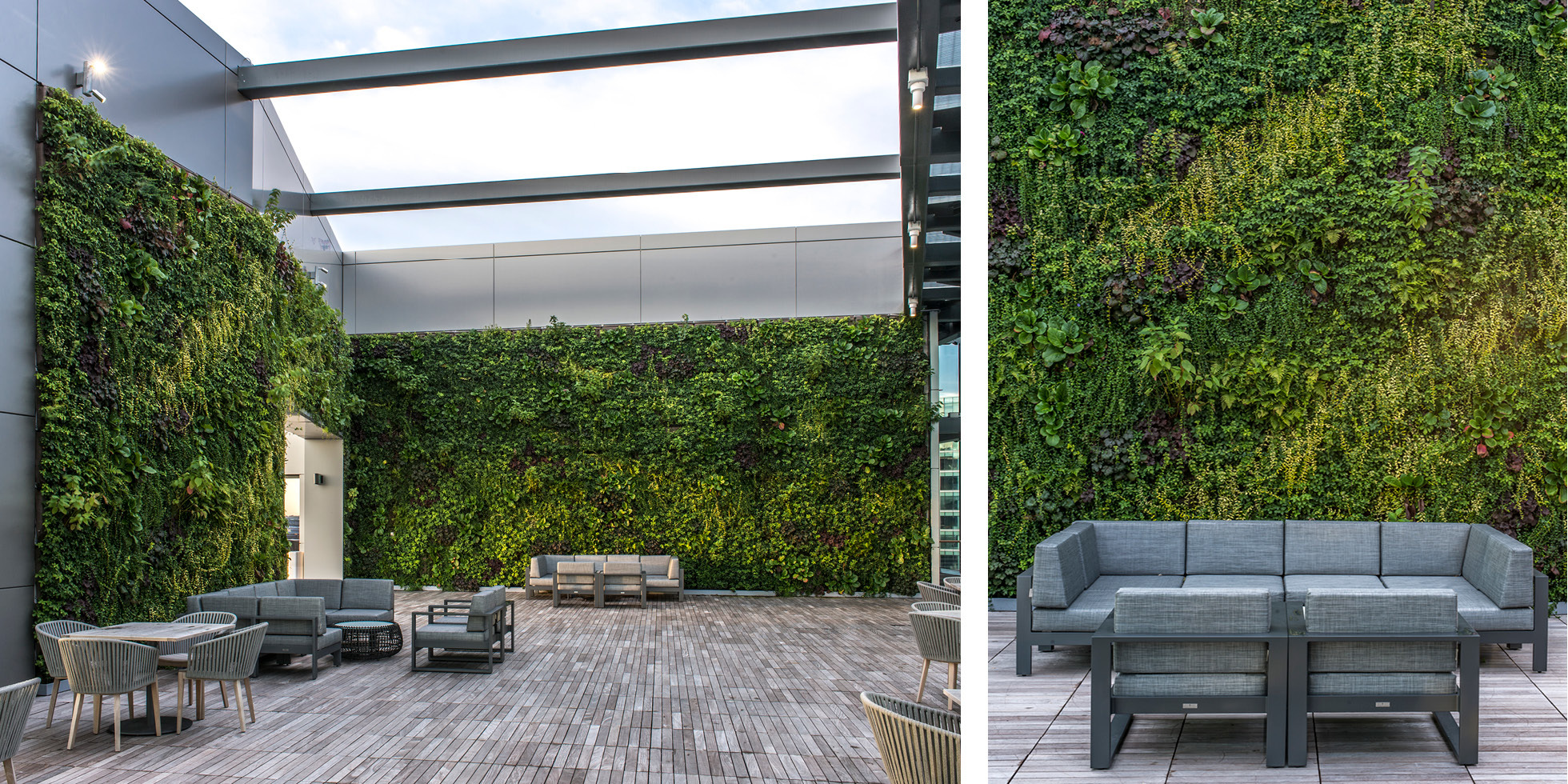 Boston Pier 4 Living Wall by Habitat Horticulture - View 3