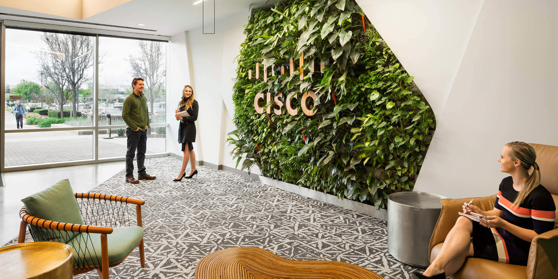 Cisco Living Wall by Habitat Horticulture - View 4