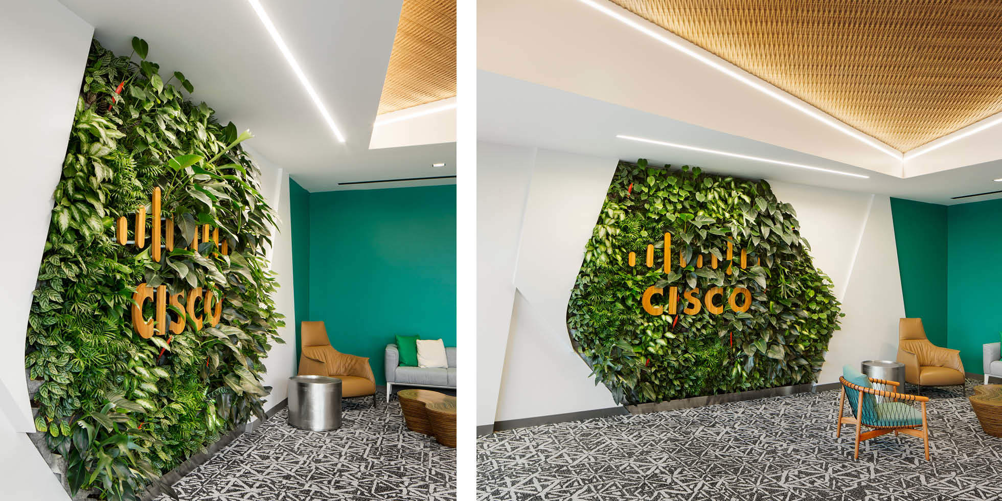 Cisco Living Wall by Habitat Horticulture - View 2