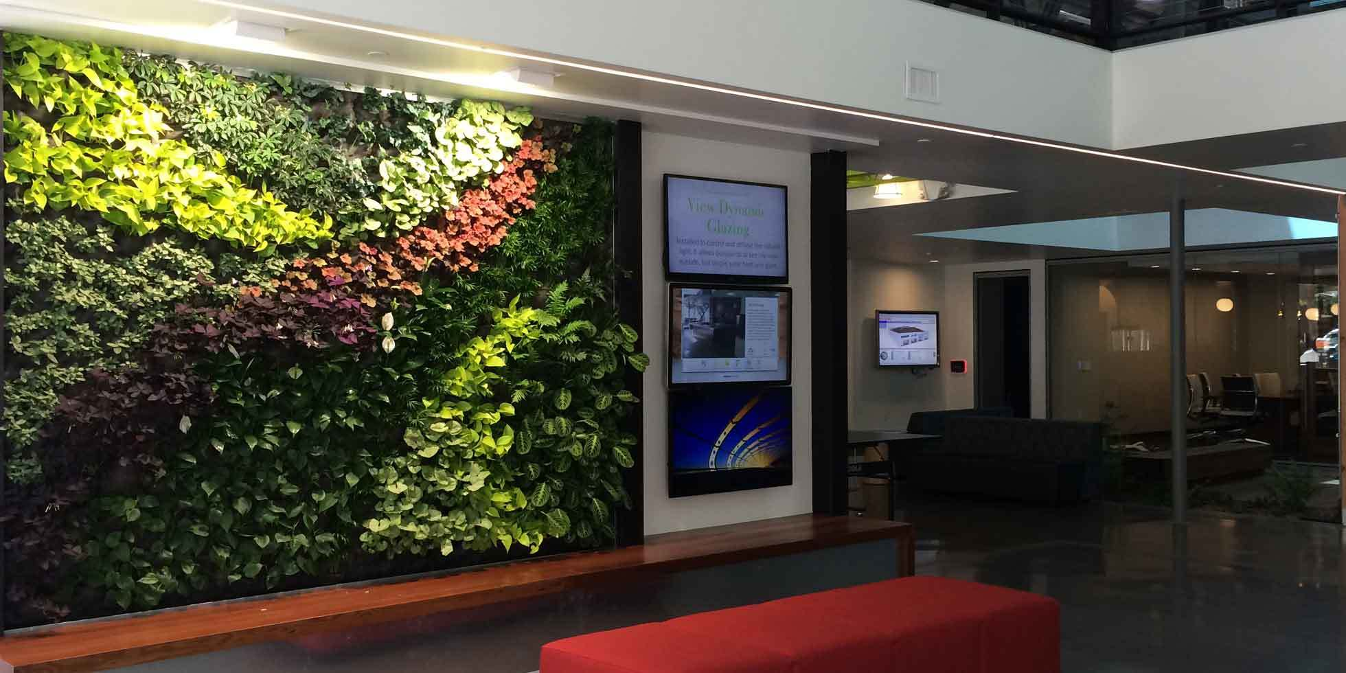 DPR Construction Living Wall by Habitat Horticulture - View 5
