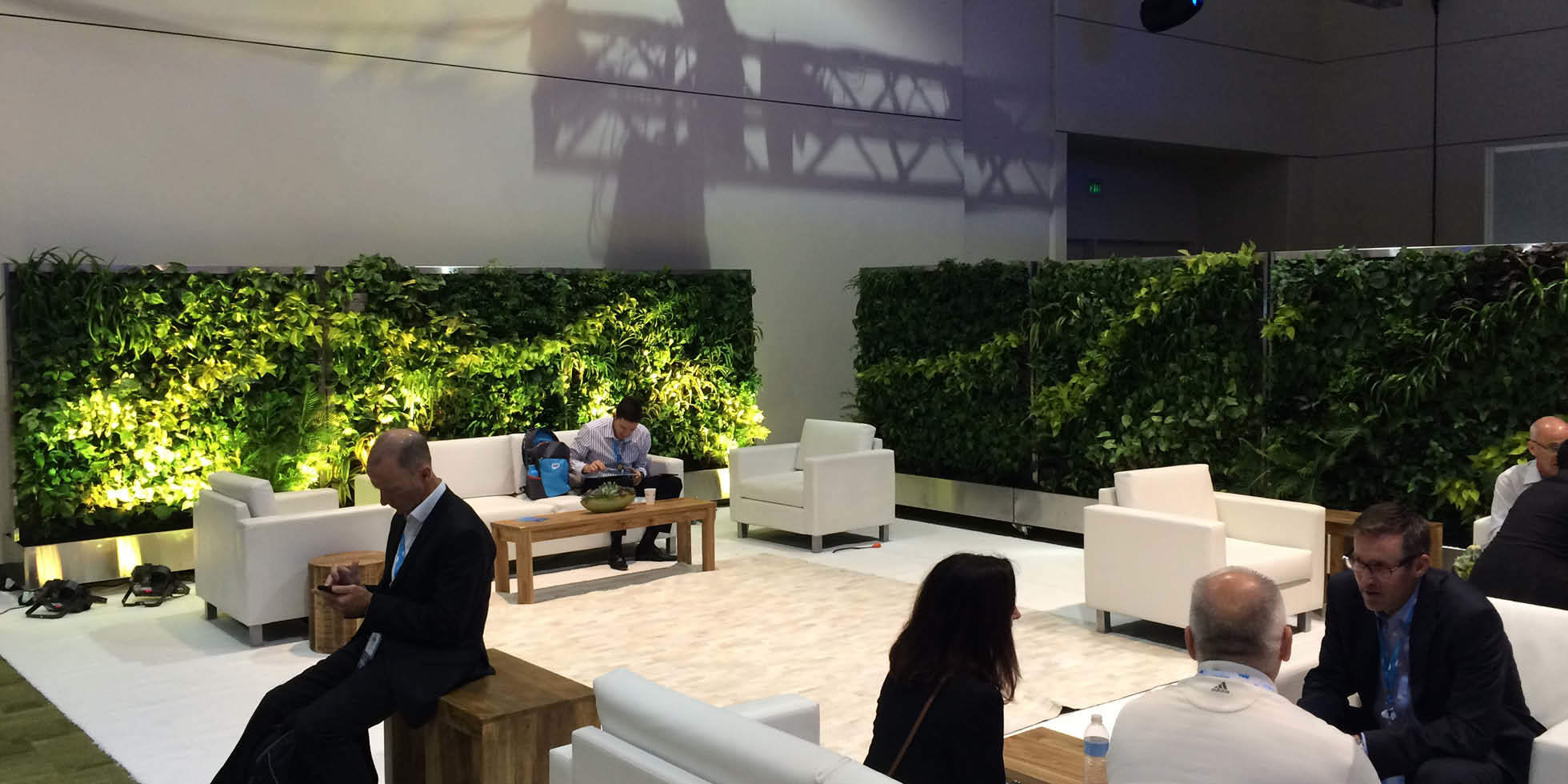 Dreamforce Living Partitions Living Wall by Habitat Horticulture - View 2