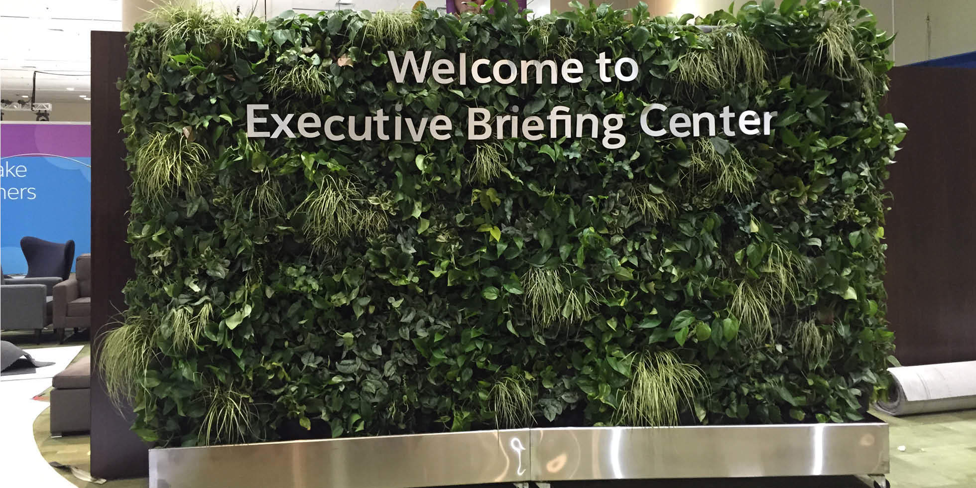 Dreamforce Living Partitions Living Wall by Habitat Horticulture - View 5