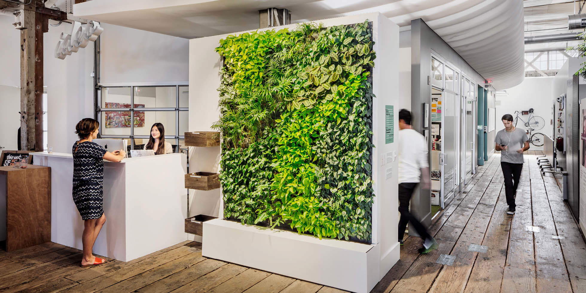 Habitat horticulture ideo living wall for Ideo san francisco