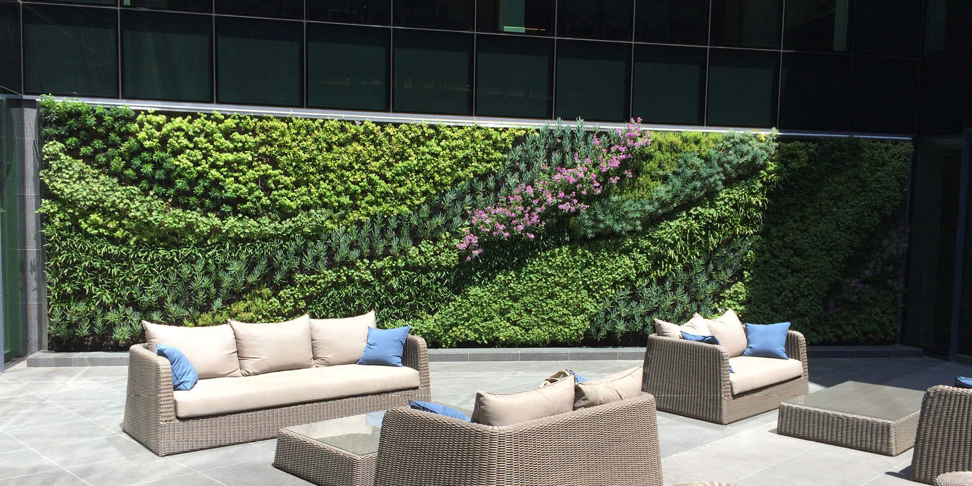 Kennedy Wilson Living Wall by Habitat Horticulture - View 2