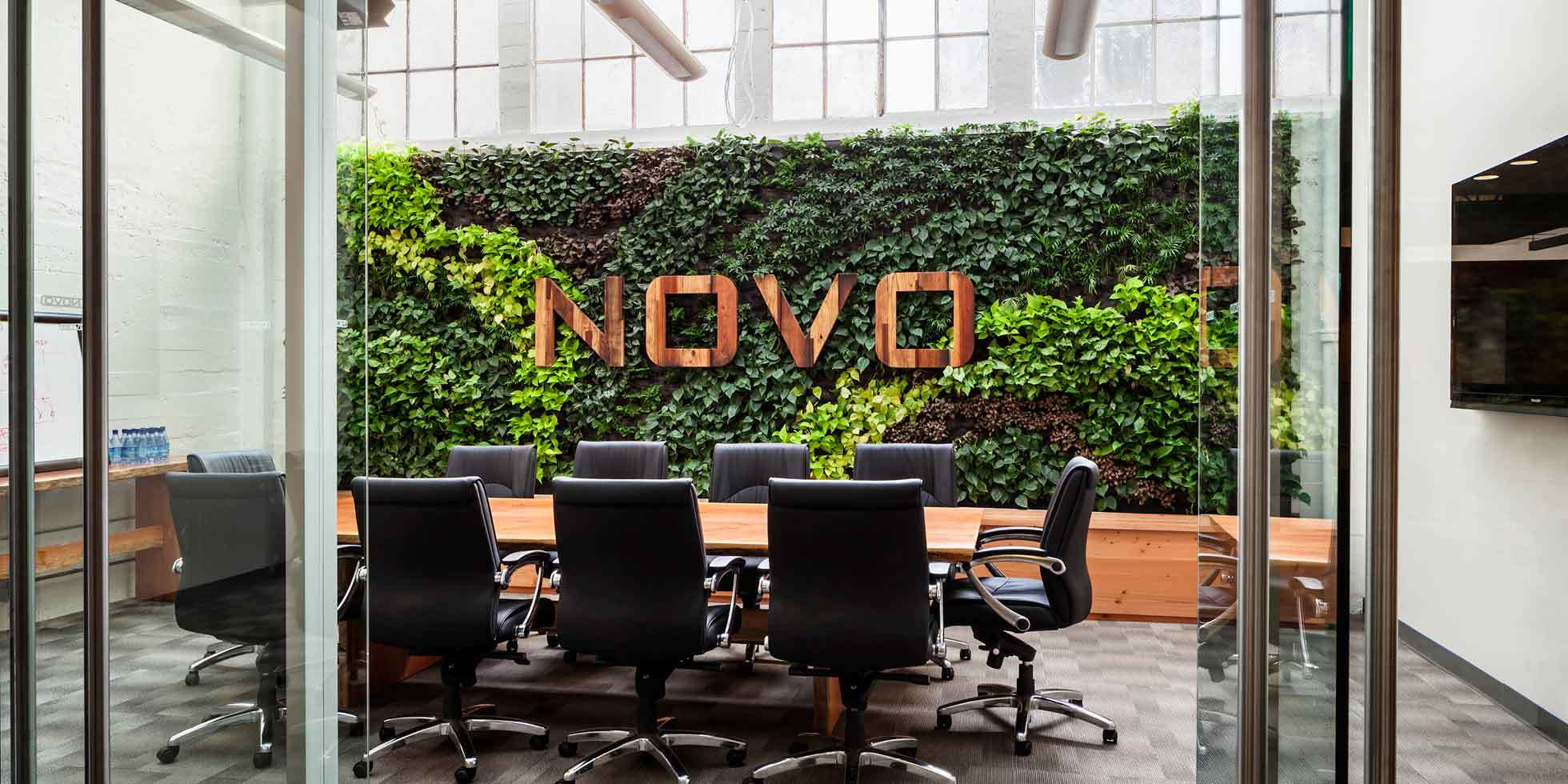 Novo Construction HQ Living Wall by Habitat Horticulture - View 3