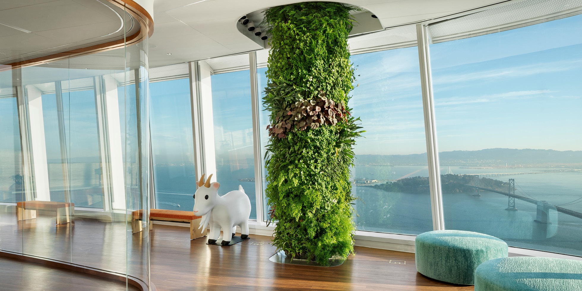 Salesforce Tower  Living Wall by Habitat Horticulture - View 3
