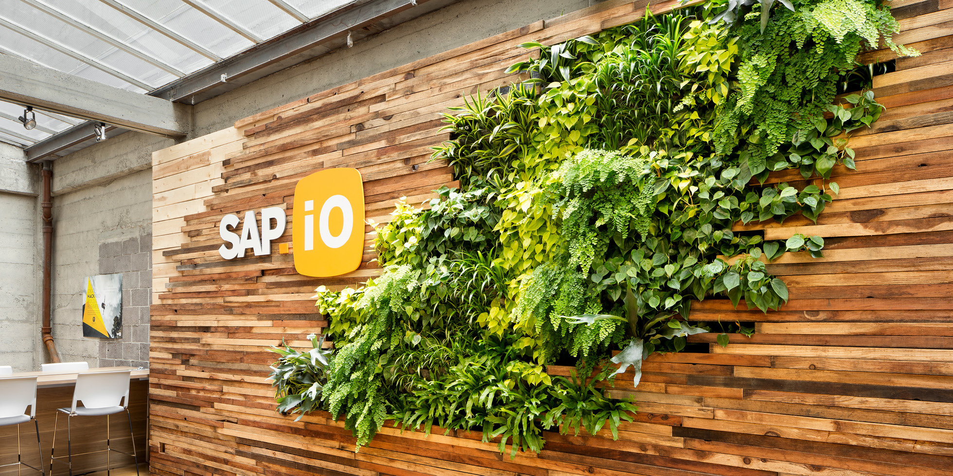 SAP.iO Living Wall by Habitat Horticulture - View 3
