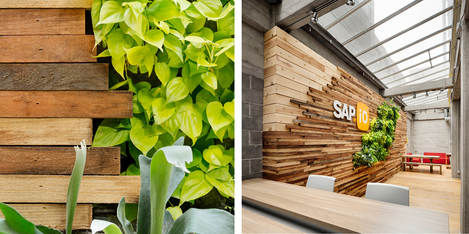 SAP.iO Living Wall by Habitat Horticulture - View 4
