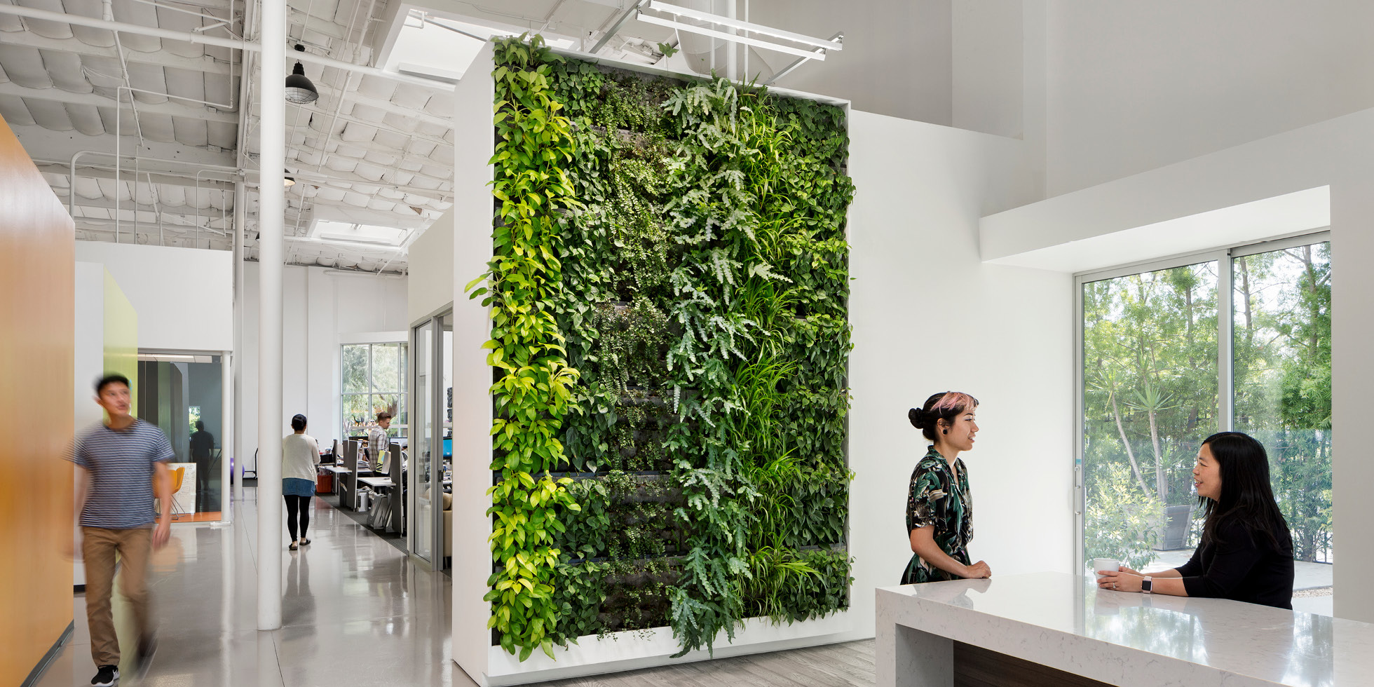 Simplehuman Living Wall by Habitat Horticulture - View 3