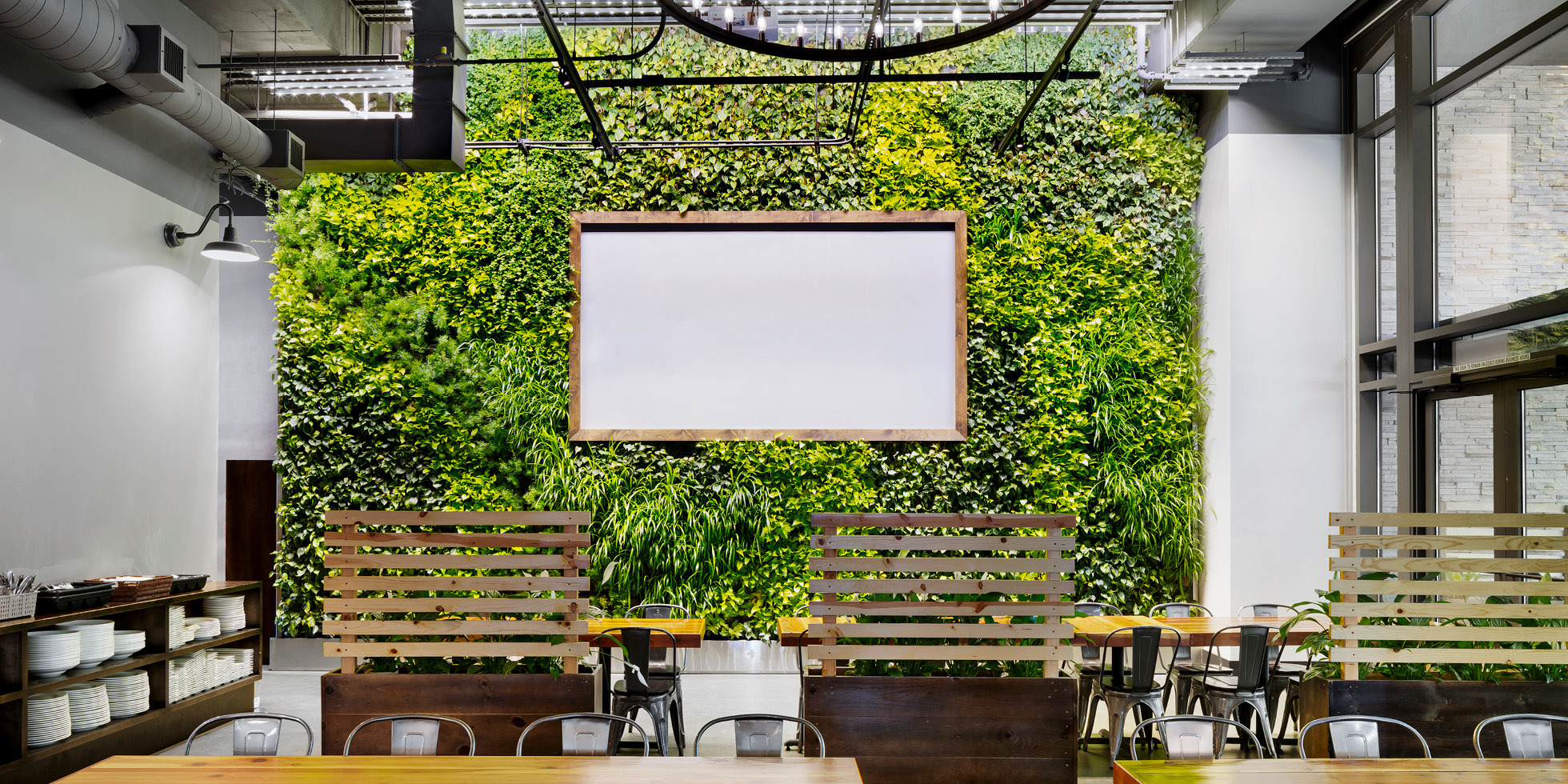 Steins Beer Garden Living Wall by Habitat Horticulture - View 4