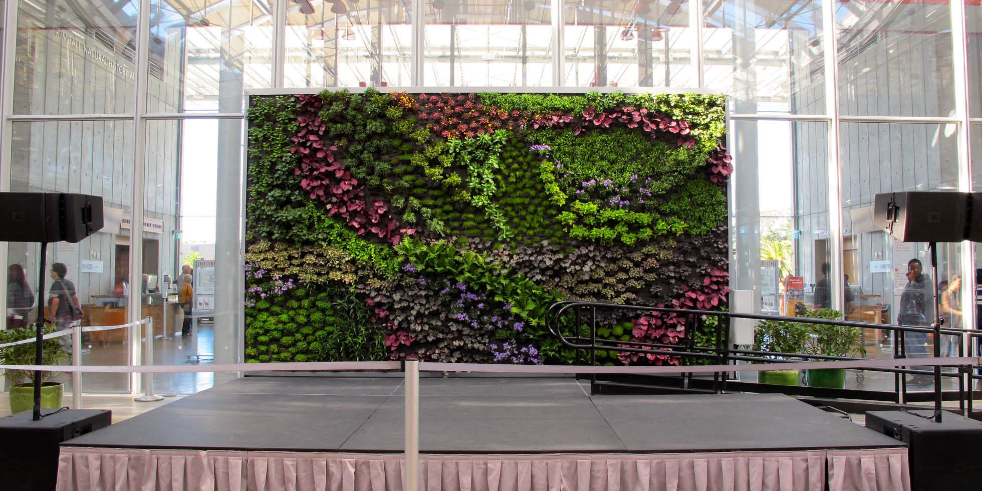 California Academy of Sciences - Living Stage Living Wall by Habitat Horticulture - View 1