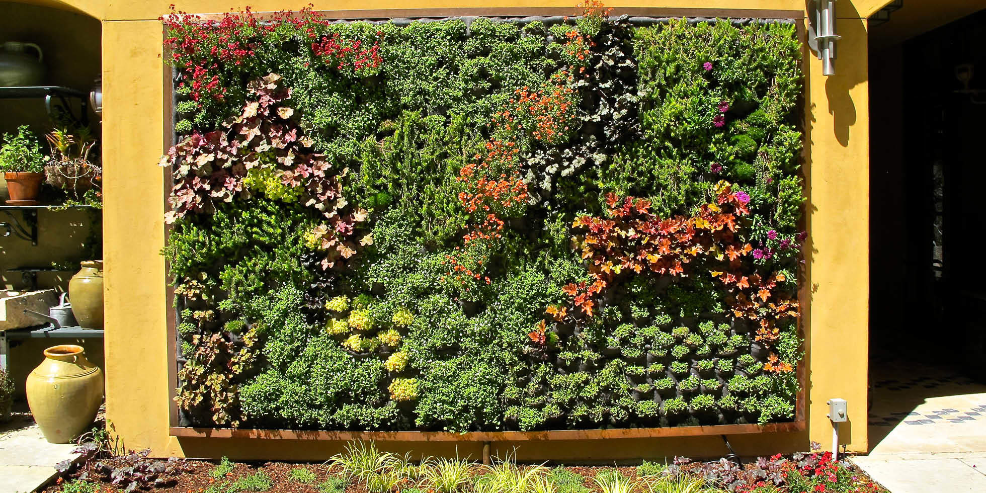 Tiburon Estate Living Wall by Habitat Horticulture - View 4
