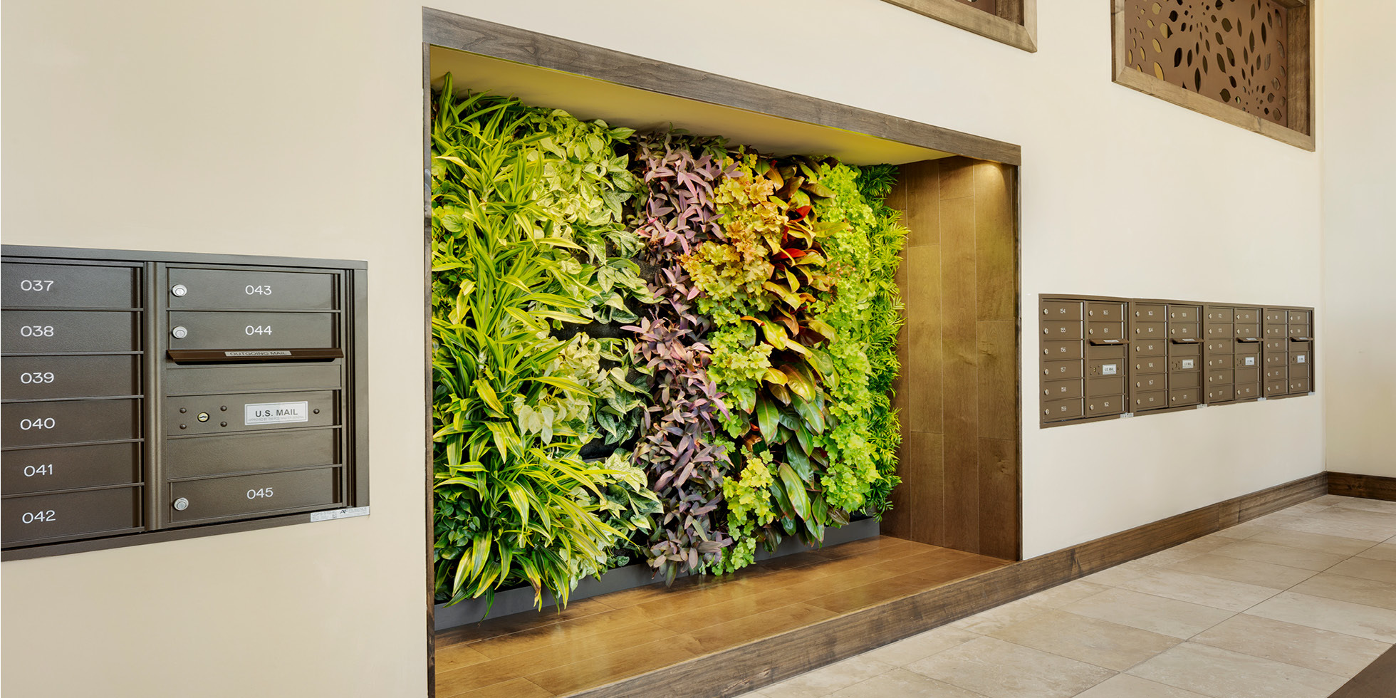 Villas on the Boulevard Living Wall by Habitat Horticulture - View 1