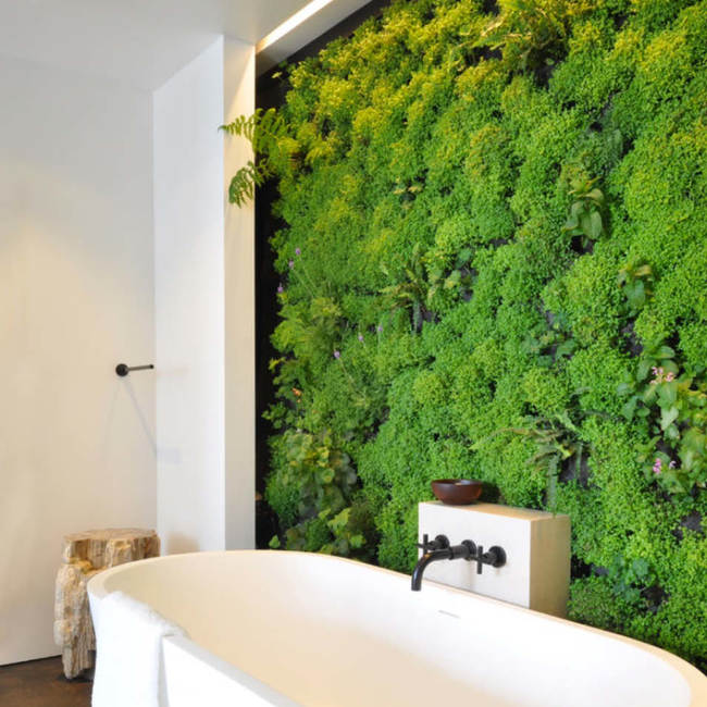 Designer showcase living wall2